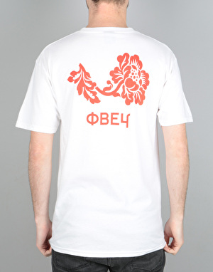 Obey Flower T-Shirt - White