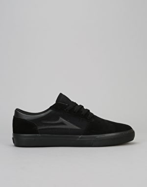Lakai Brea Skate Shoes - Black/Black Suede