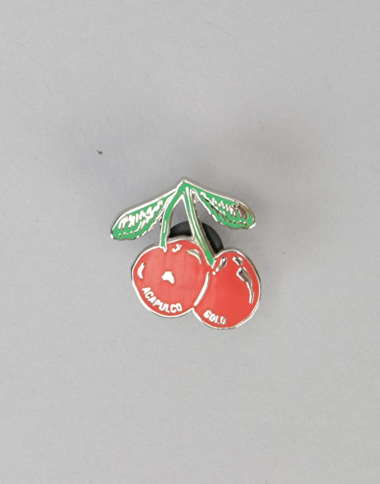Acapulco Gold x Pintrill Lapel Pins - Cherry