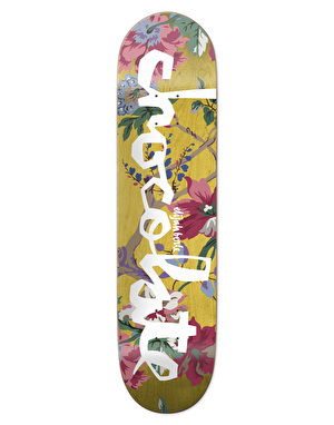 Chocolate Berle Floral Chunk Pro Deck - 8.375