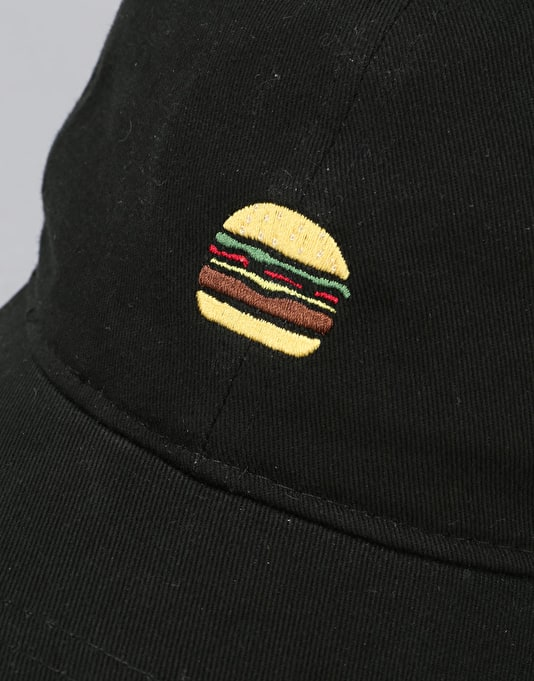 Route One Burger Cap - Black