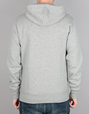 Converse Core Full Zip Hoodie - Vintage Grey Heather