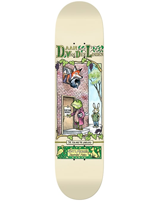 Anti Hero Daan Fables Pro Deck - 8.43""