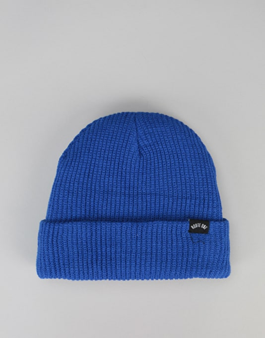 Route One Fisherman Beanie - Royal Blue
