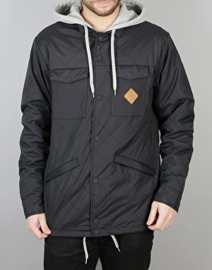 Thirty Two Myder Hooded 2017 Snowboard Jacket - Black