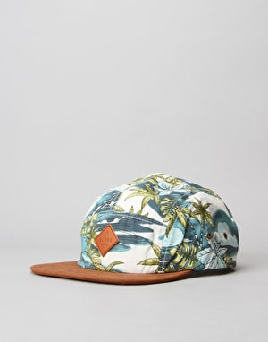 Globe Jive 5 Panel Cap - Brown