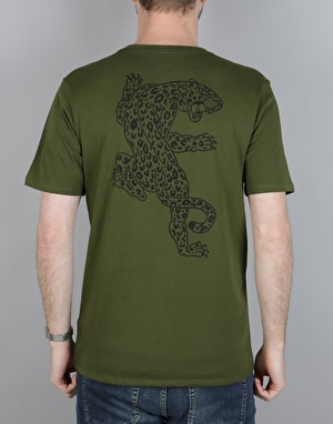 Nike SB DF Jag Dry T-Shirt - Legion Green/Black