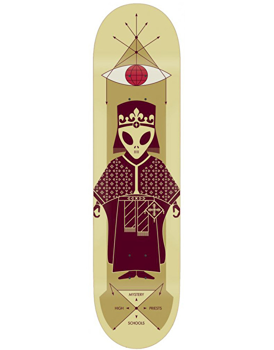 Alien Workshop High Priest Friar Skateboard Deck - 8.25""