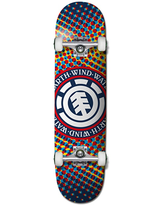 """Element Dotted Seal Complete Skateboard - 7.75"""""""