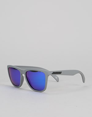 Santa Cruz Strip Sunglasses - Matte Asphalt/Blue