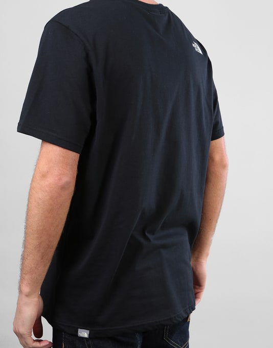 The North Face S/S Simple Dome T-Shirt - Black