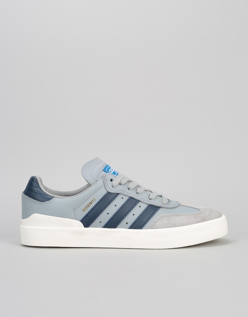 new product 0e560 3ec95 Adidas Busenitz Vulc Samba Edition Skate Shoes - Onix Navy Blue   Sale    Clearance   Cheap Skate Clothing, Footwear   Hardware   Route One