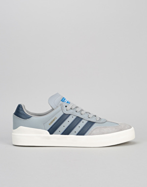 Adidas Busenitz Vulc Samba Edition Skate Shoes - Onix/Navy/Blue
