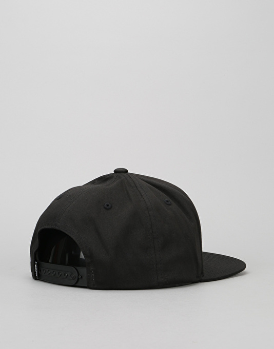 Obey Classic Patch Snapback Cap - Black