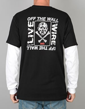 Vans Live Wire L/S T-Shirt - Black/White