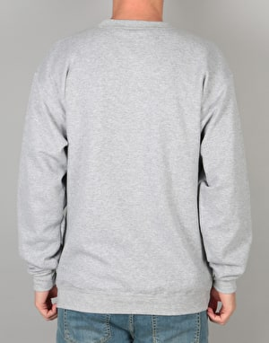 Transworld Classic Logo Crewneck - Heather