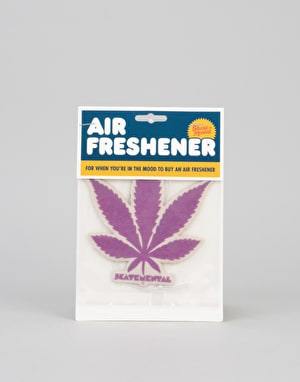 Skate Mental Air Freshener - Purple Leaf