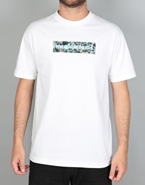 The Hundreds x Jackson Pollock Bar Fill T-Shirt - White