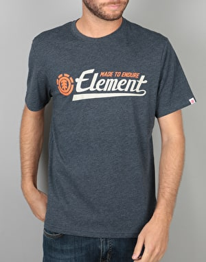 Element Signature T-Shirt - Midnight Blue Heather