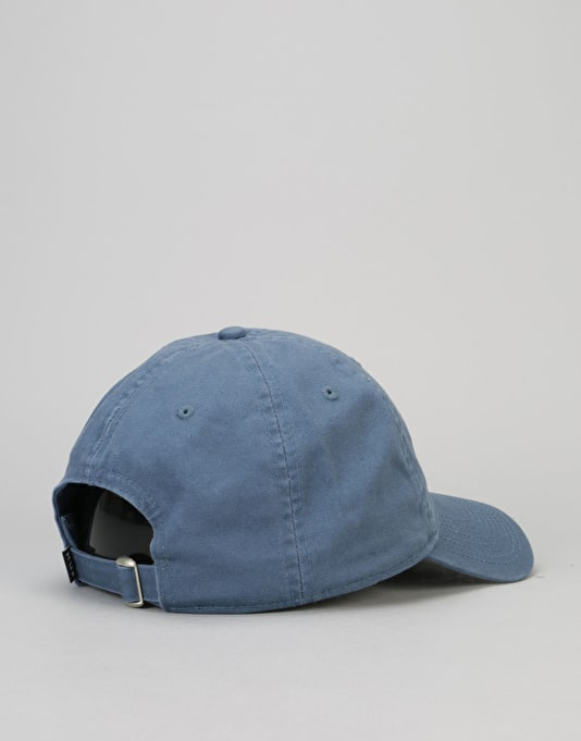HUF Circle H Curved Brim 6 Panel Cap - Slate