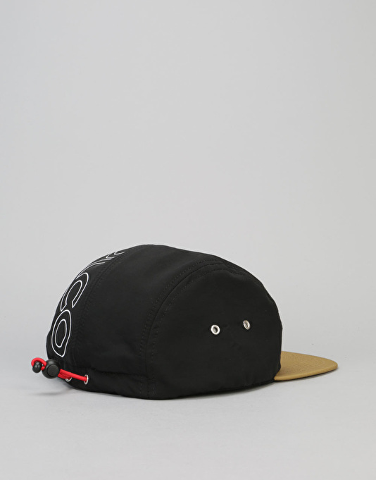 Acapulco Gold Alpine Sport 5 Panel Cap - Black