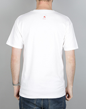 Emerica Rasta Triangle T-Shirt - White