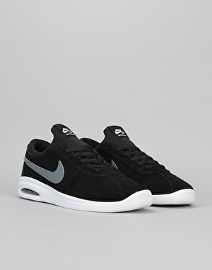 Nike SB Air Max Bruin Vapor Skate Shoes - Black/Cool Grey-White-White