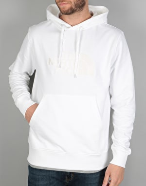 The North Face Light Drew Peak Pullover Hoodie - TNF White