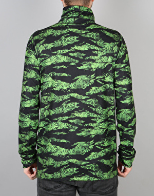 Burton Midweight Long Neck 2017 Snowboard Thermal Top - Colorado Camo