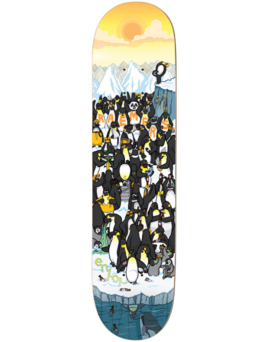 Enjoi Raemers Penguin Party Skateboard Deck - 8""