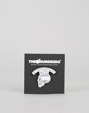The Hundreds Creativity Pin - White