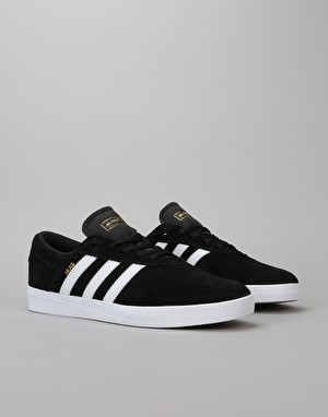 Adidas Silas Vulc ADV Skate Shoes - Core Black/White/White