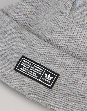 Adidas Skateboarding The Joe Beanie - Medium Heather Grey