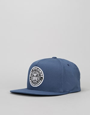 Obey Classic Patch Snapback Cap - Navy