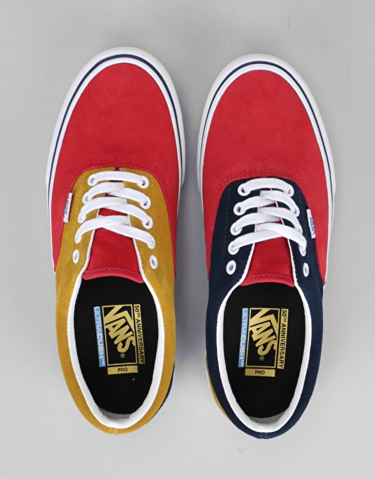 Vans Era Pro 50th Anniversary Skate Shoes - 76 Multi