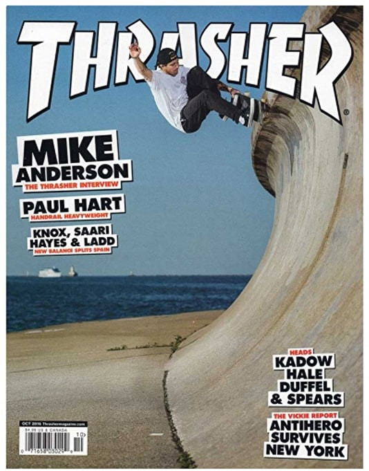 Thrasher Magazine Issue 435 October 2016