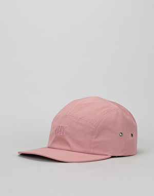 Obey Highland 5 Panel Cap - Coral