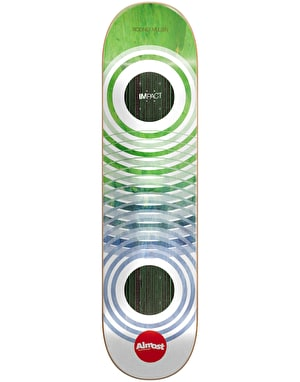 Almost Mullen OG Trans Rings Ghost Impact Pro Deck - 7.75
