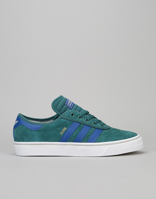 huge selection of 88335 bea6d Adidas Adi-Ease Premiere ADV Skate Shoes - Tech GreenCollegiate Royal