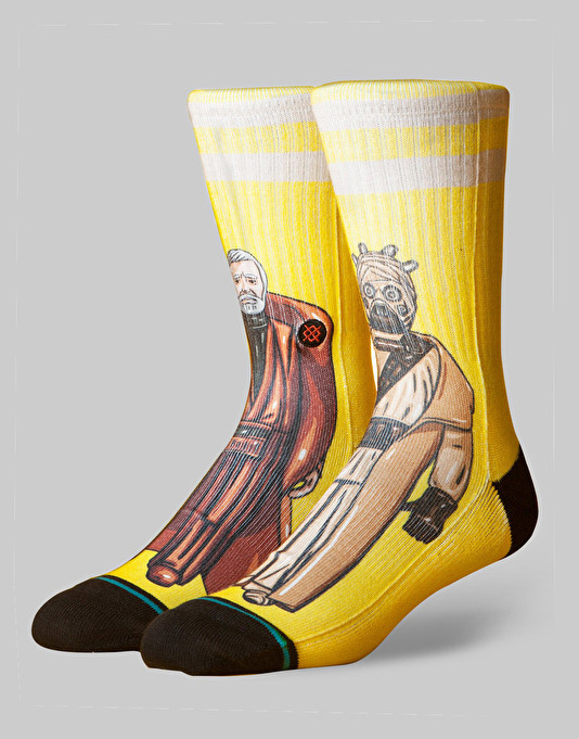 Stance x Star Wars Jundland Waste Socks - Yellow