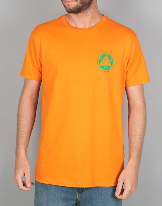 Welcome Sloth T-Shirt - Orange/Green