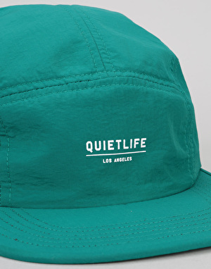 The Quiet Life Crush 5 Panel Cap - Teal
