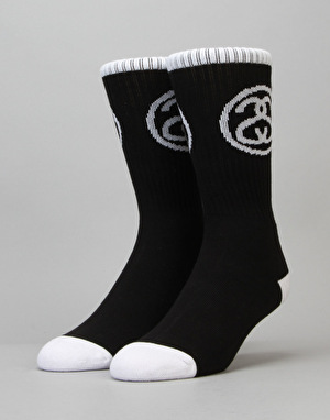 Stüssy Stock Premium Socks - Black