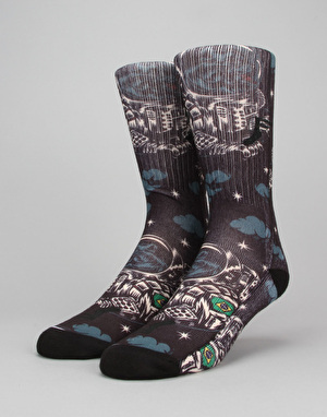 Footprint Astro Dog Socks - Multi