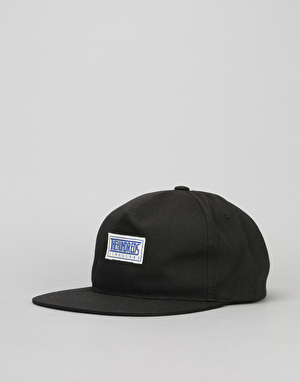 The Hundreds Mill Snapback Cap - Black