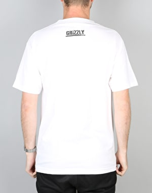Grizzly OG Bear T-Shirt - White