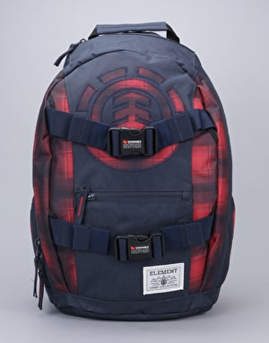Element Mohave Skatepack - Eclipse Navy/Fire Red