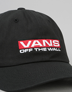 Vans Block Curved Bill Jockey Cap - Black