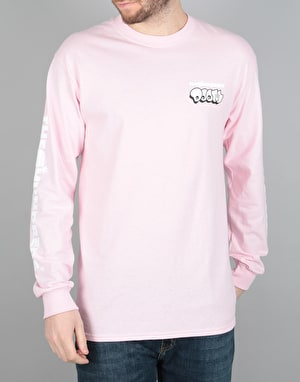 The Hundreds x MF Doom Mask L/S T-Shirt - Pink