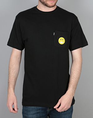 RIPNDIP Everything'll Be Ok Pocket T-Shirt - Black